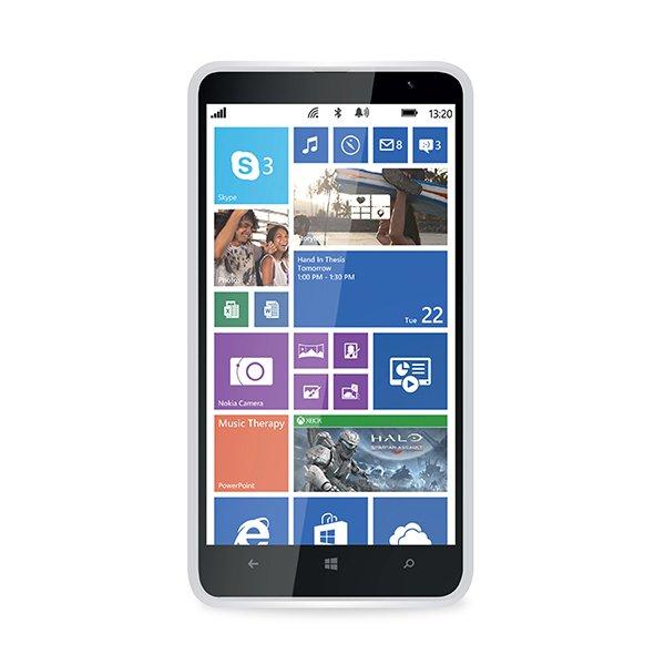 Puro silikonový kryt pro Nokia Lumia 1320, transparentní