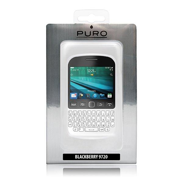 Puro silikonový kryt pro BlackBerry 9720, transparentní