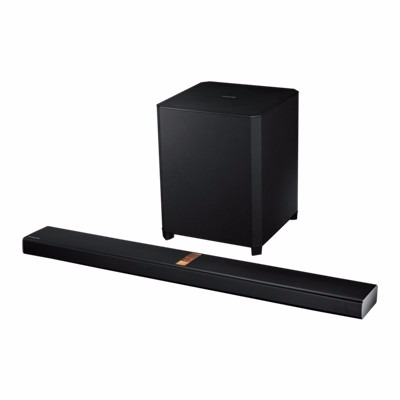 SAMSUNG HW-H750 4.1kanálový sound bar, 4x40W, 2x160W subwoofer, USB, optical digital in, audio in