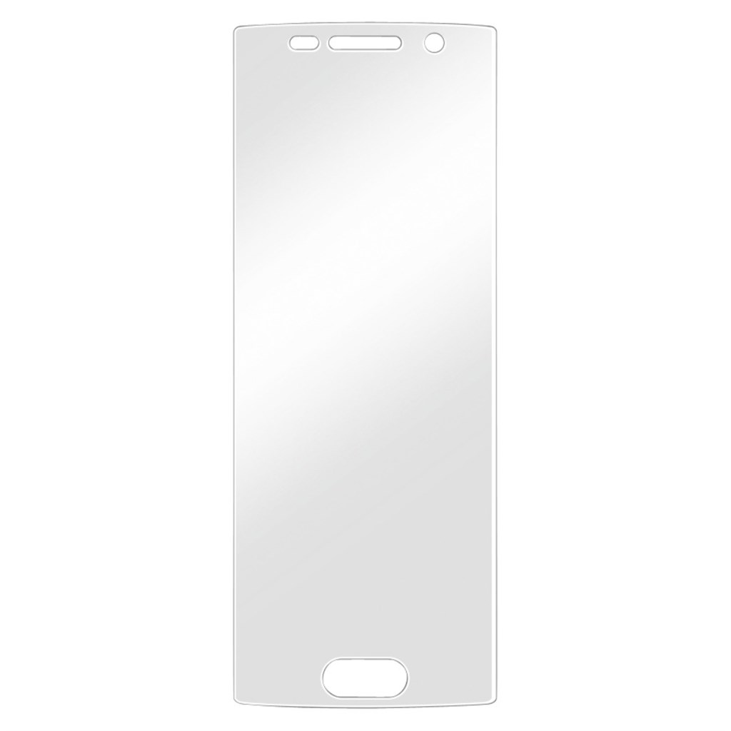 Hama Crystal Clear Screen Protector for Samsung Galaxy S6 edge+, 1 piece