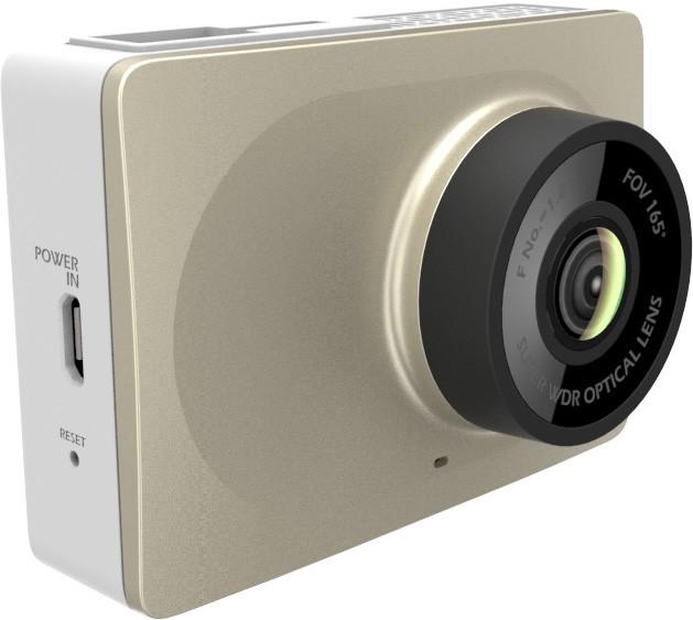 YI Smart Dash Camera - kamera do auta, zlatá