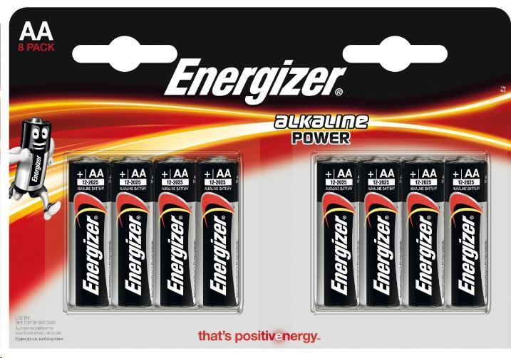 ENERGIZER Alkaline Power E91 AA 8 ks