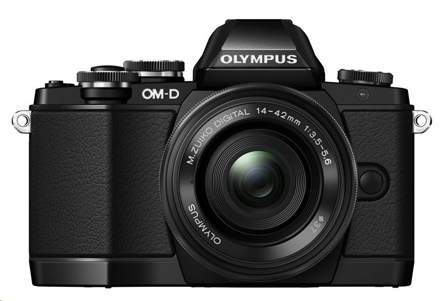 OLYMPUS O-MD E-M10 fotoaparát 16.1MPix + 14-42 mm II R - černý