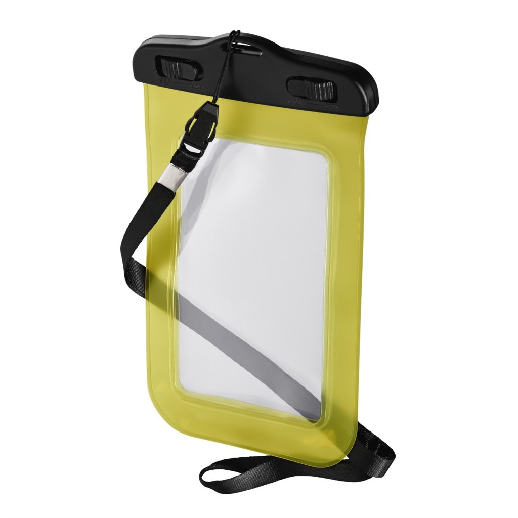 Hama Active Outdoor Case for Smartphones, size XL, yellow