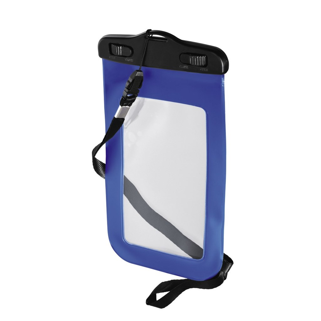 Hama Active Outdoor Case for Smartphones, size XXL, blue