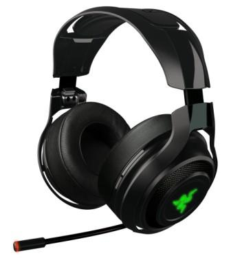 RAZER sluchátka s mikrofonem ManO'War Wireless PC Gaming Headset
