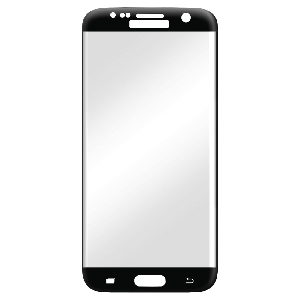 Hama 3D Full Screen Glass Protector for Samsung Galaxy S7 Edge, black