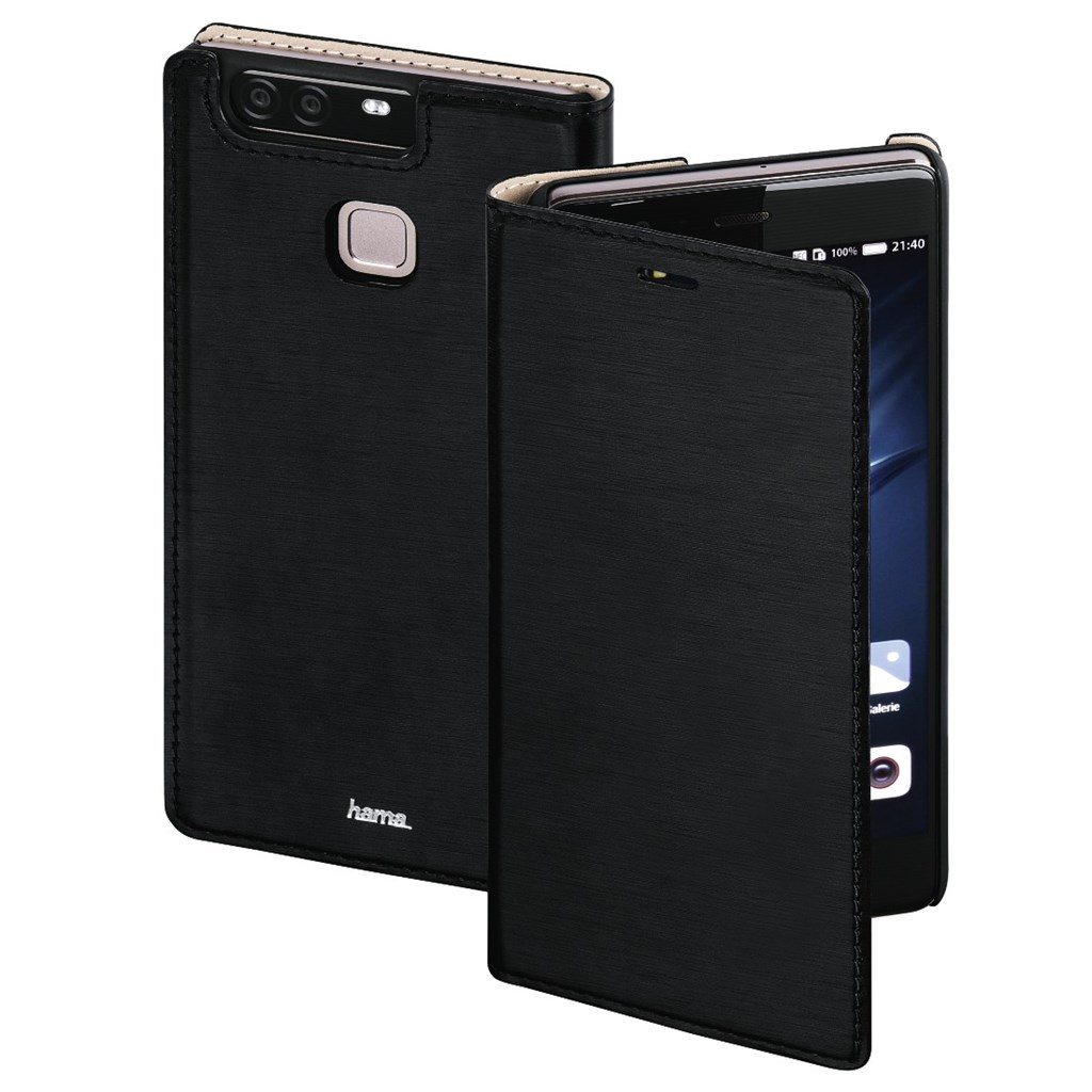 Hama Slim Booklet Case for Huawei P9 Plus, black