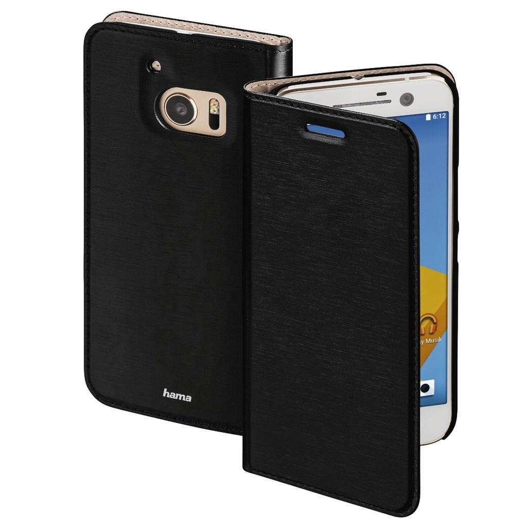 Hama Slim Booklet Case for HTC 10, black