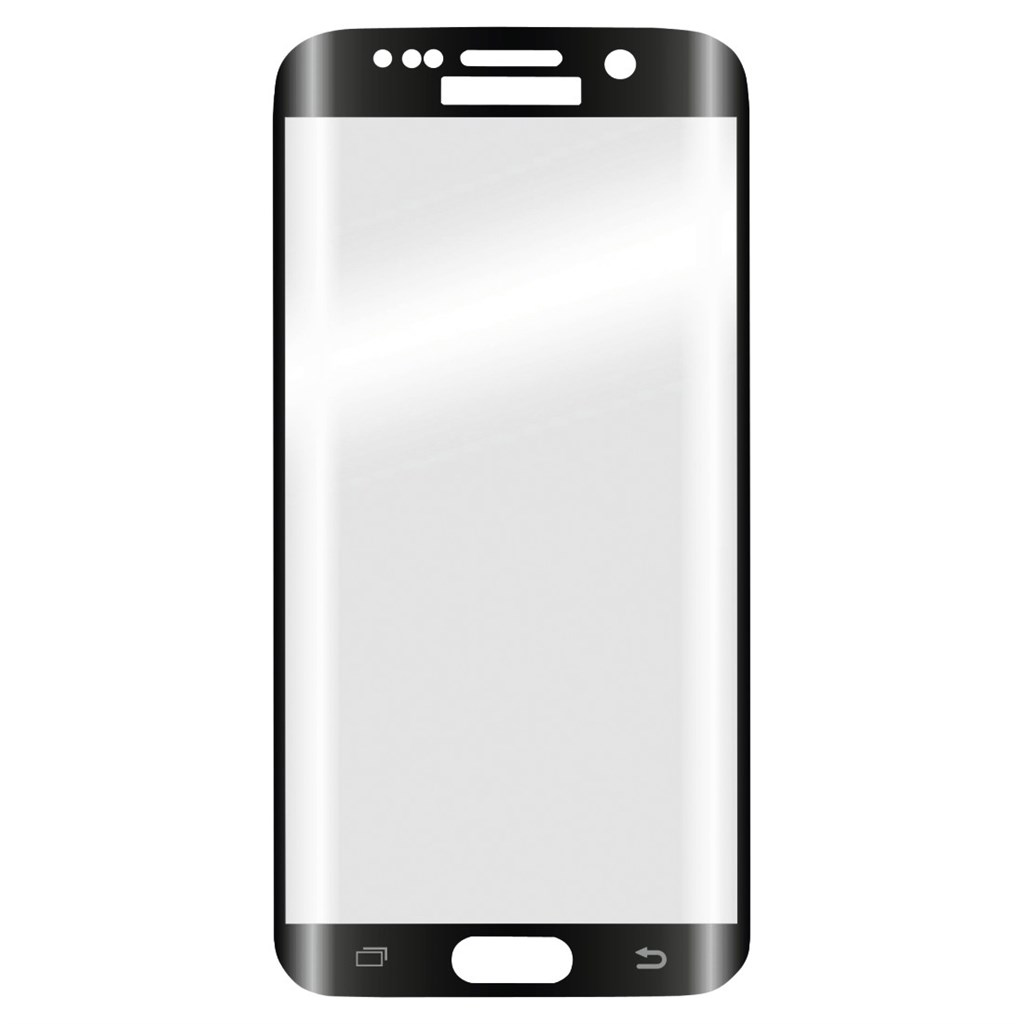 Hama 3D Full Screen Glass Protector for Samsung Galaxy S6 Edge, black