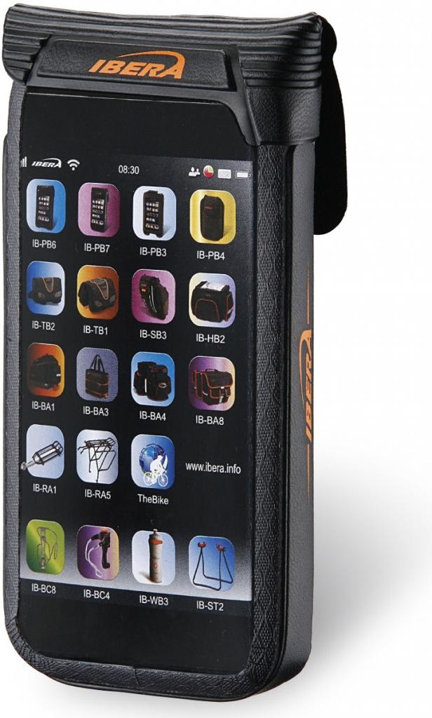 """Ibera IB-PB11, pouzdro pro Smartphone 3,5 - 4"""" Waterproof na představec"""
