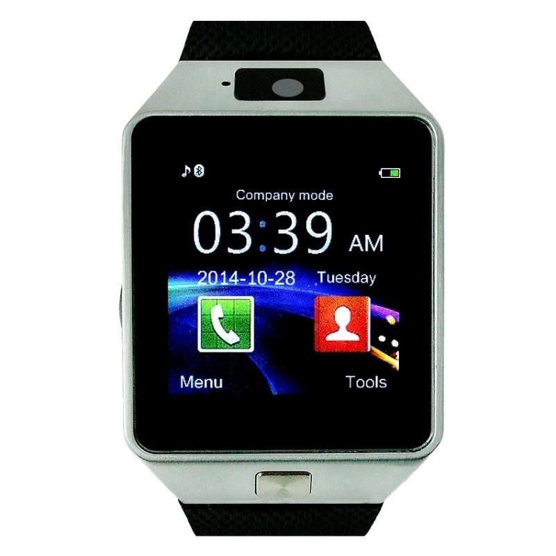C-TECH chytré hodinky SmartWatch HF370, černo-stříbrné