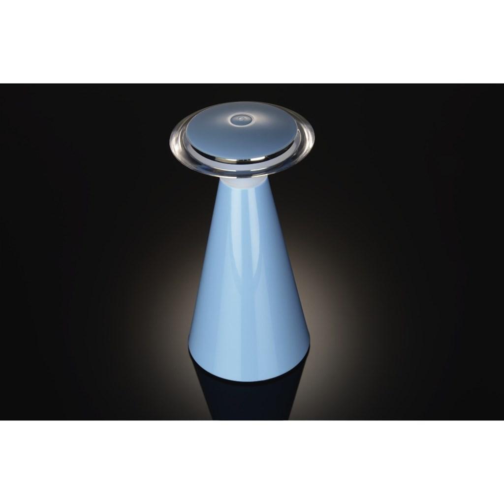 Hama LED stolní lampa, napájení bateriemi, modrá