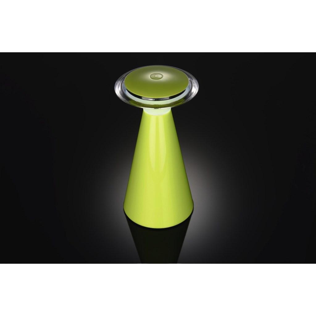 Hama LED stolní lampa, napájení bateriemi, zelená