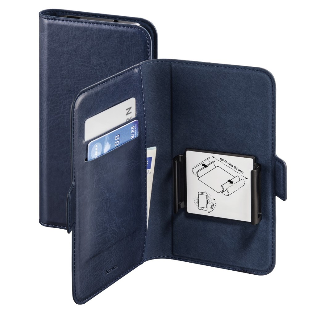 "Hama Smart Move Booklet Case, size 3 (5.2 - 5.8""), blue"