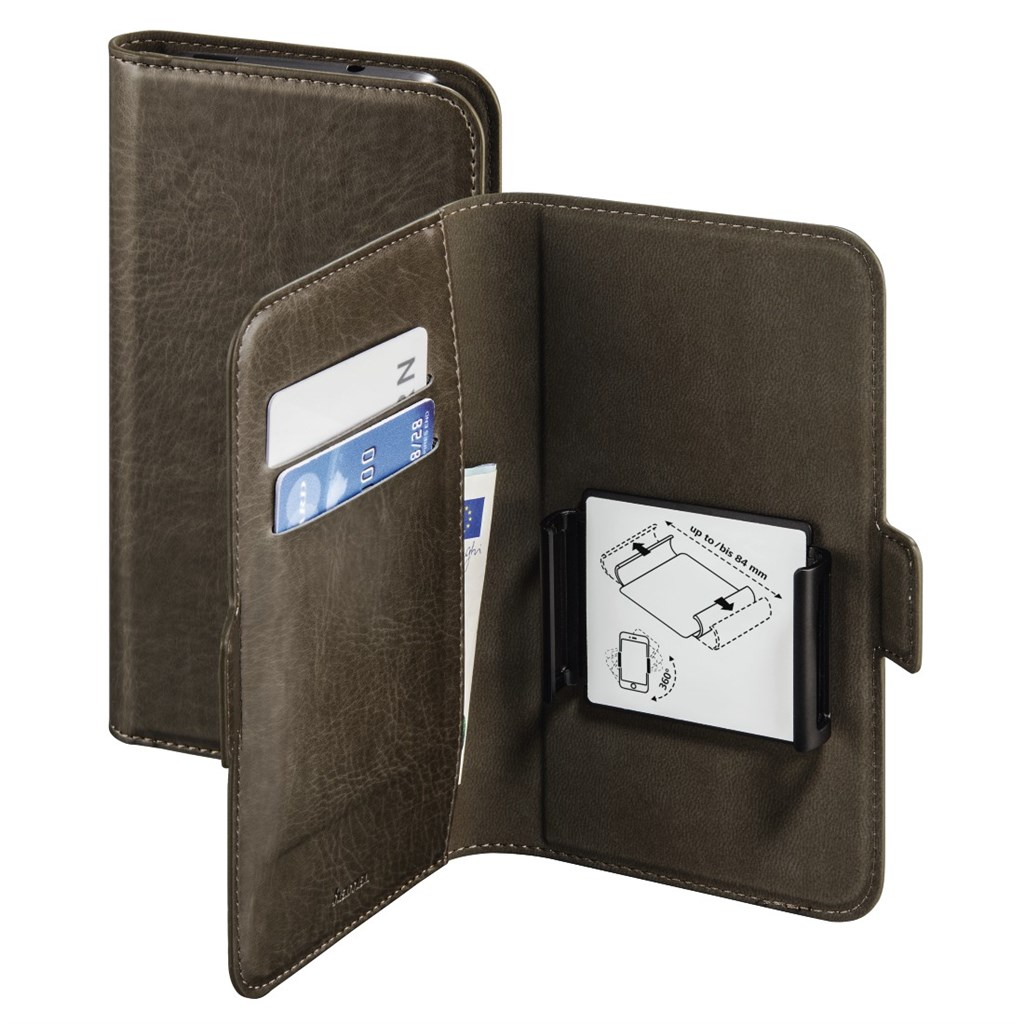 "Hama Smart Move Booklet Case, size 3 (5.2 - 5.8""), taupe"
