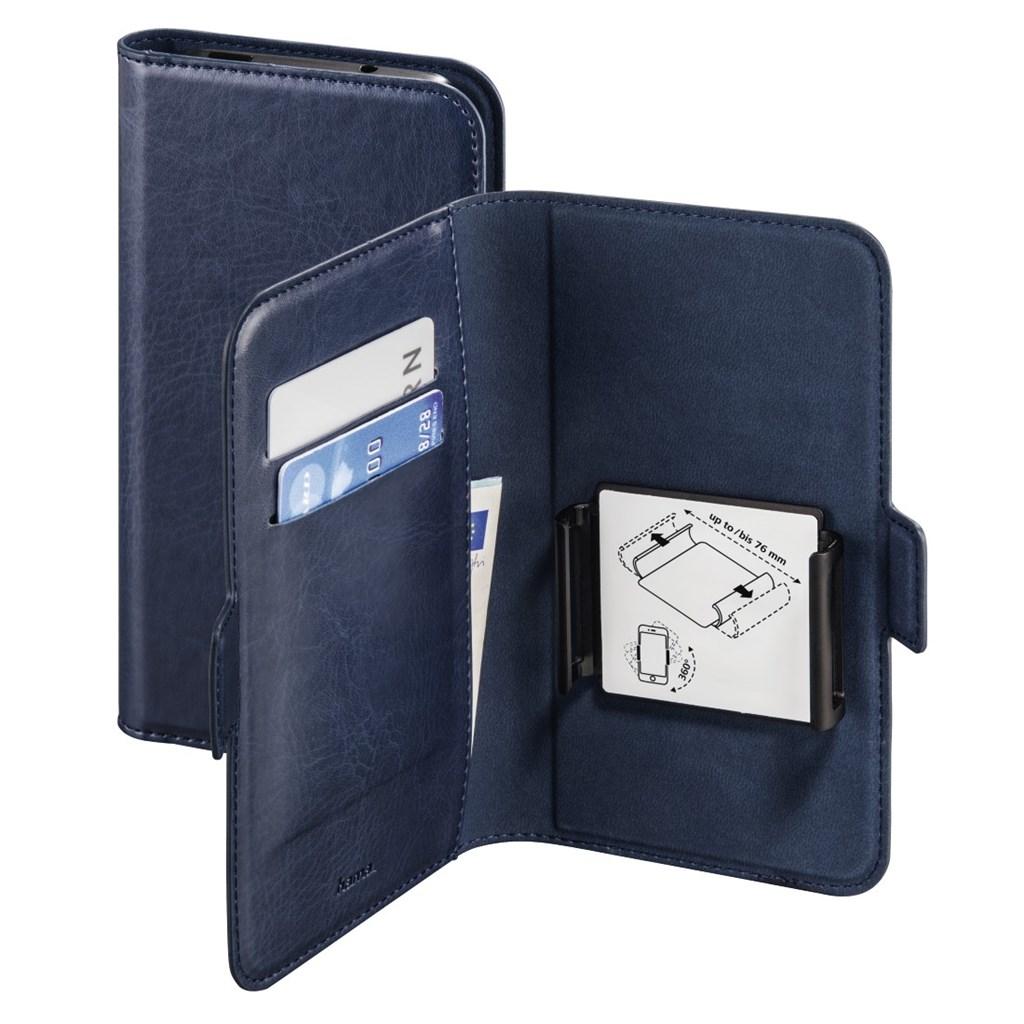 "Hama Smart Move Booklet Case, size 1 (4.0 - 4.5""), blue"