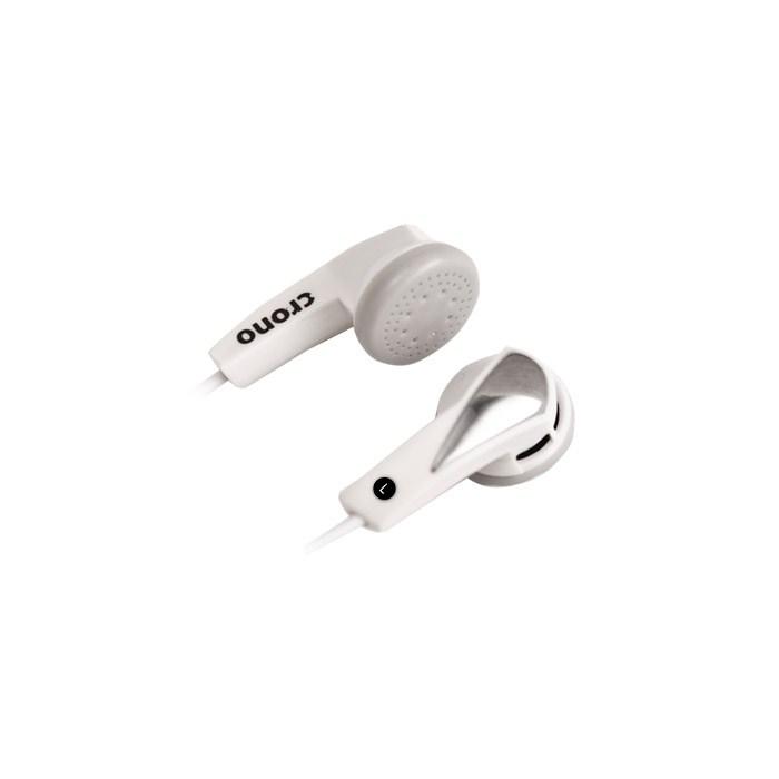 CRONO sluchátka špuntová E-11W, bílá