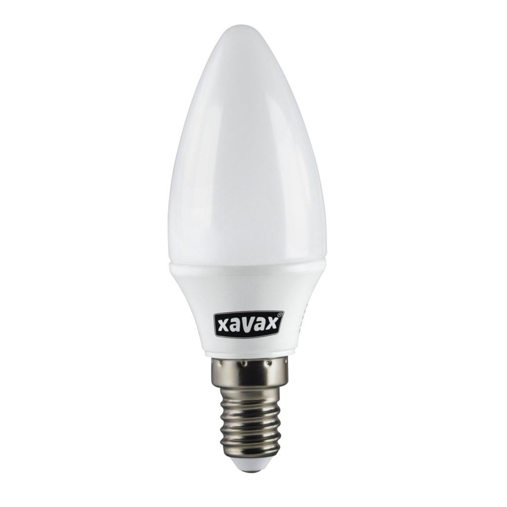 Xavax LED Light, 3.3W, candle shape, E14, warm white, Ra90