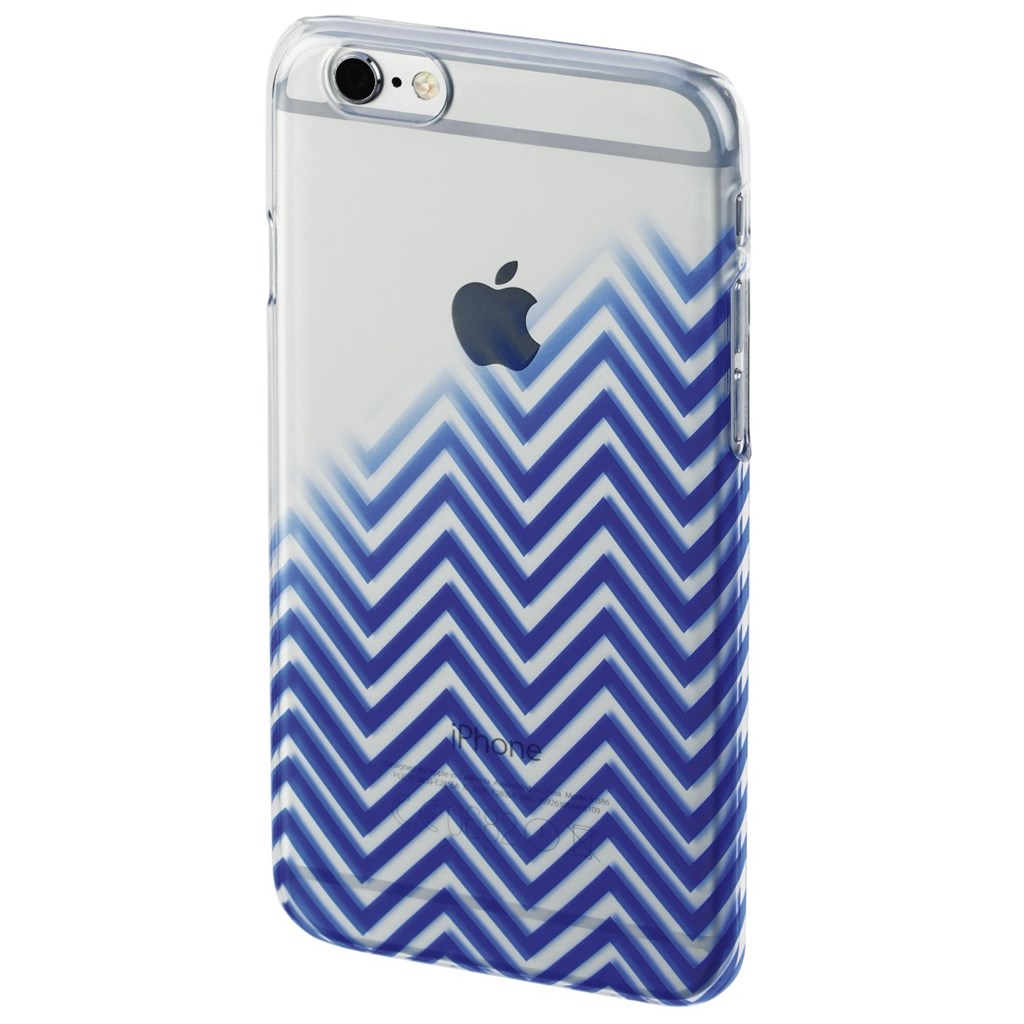 Hama Blurred Lines Cover for Apple iPhone 6/6s, blue