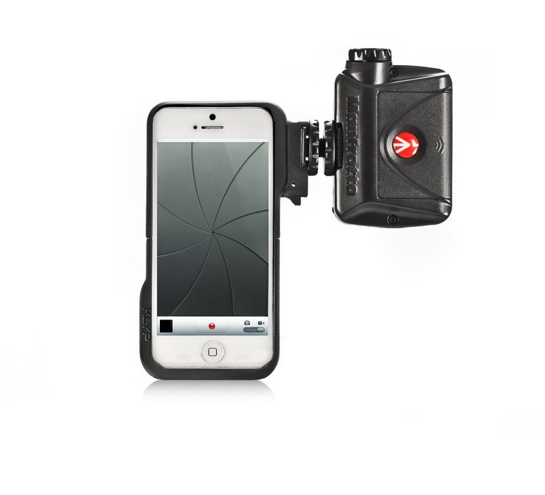 Manfrotto MKLKLYP5 iPhone case + ML240, obal na Iphone 5 + LED světlo ML240