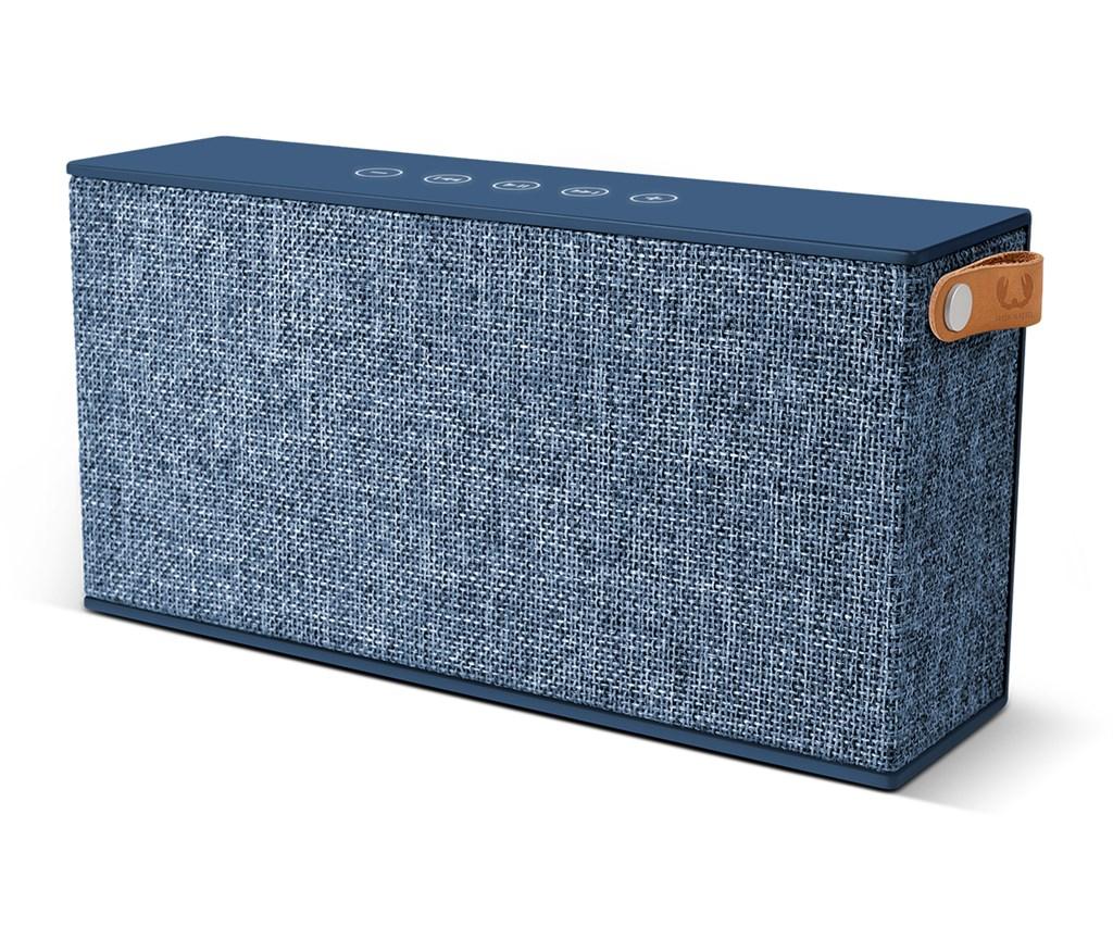 FRESH ´N REBEL Rockbox Chunk Fabriq Edition Bluetooth reproduktor, Indigo, indigově modrý