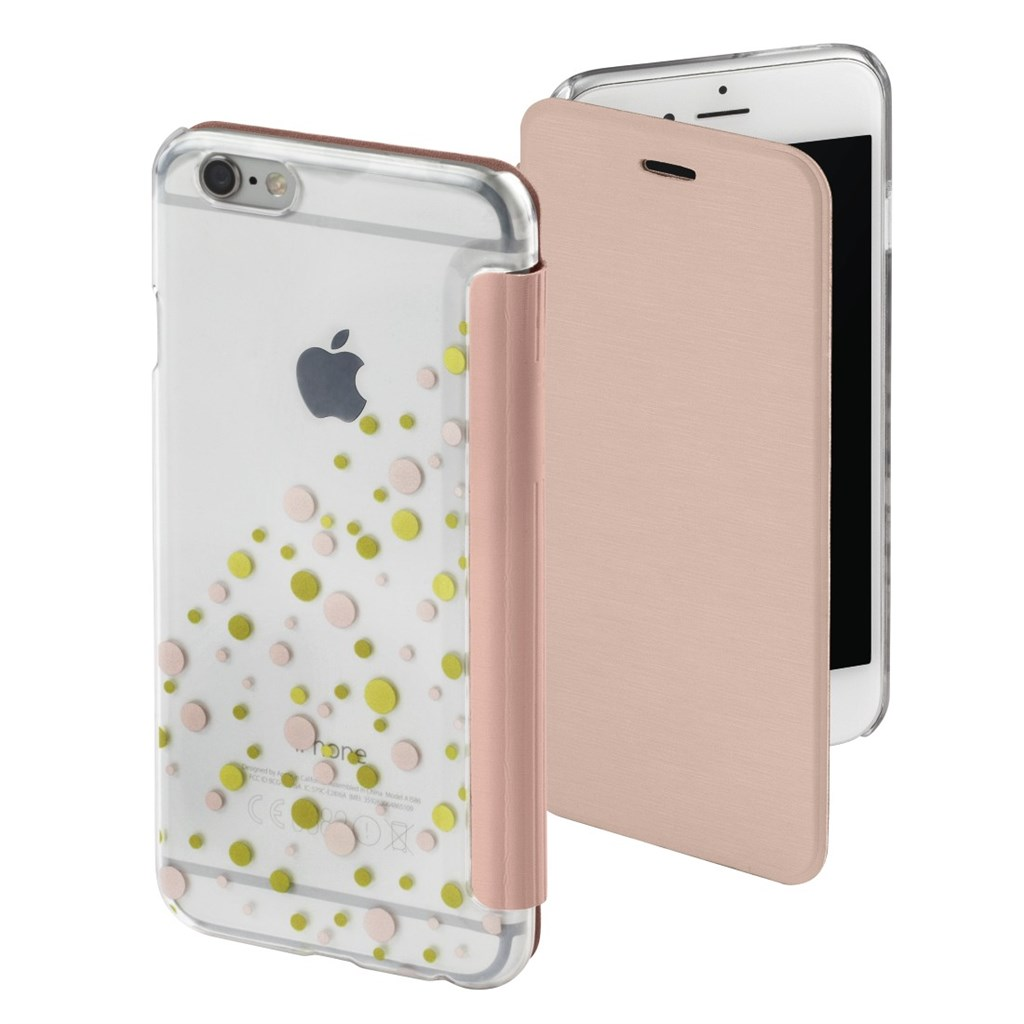 Hama Candy Drops Booklet Case for Apple iPhone 6/6s, rose