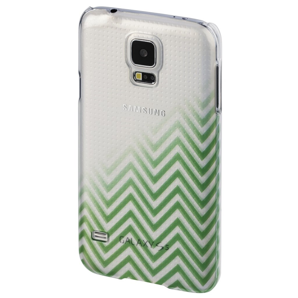 Hama Blurred Lines Cover for Samsung Galaxy S5 (Neo), green