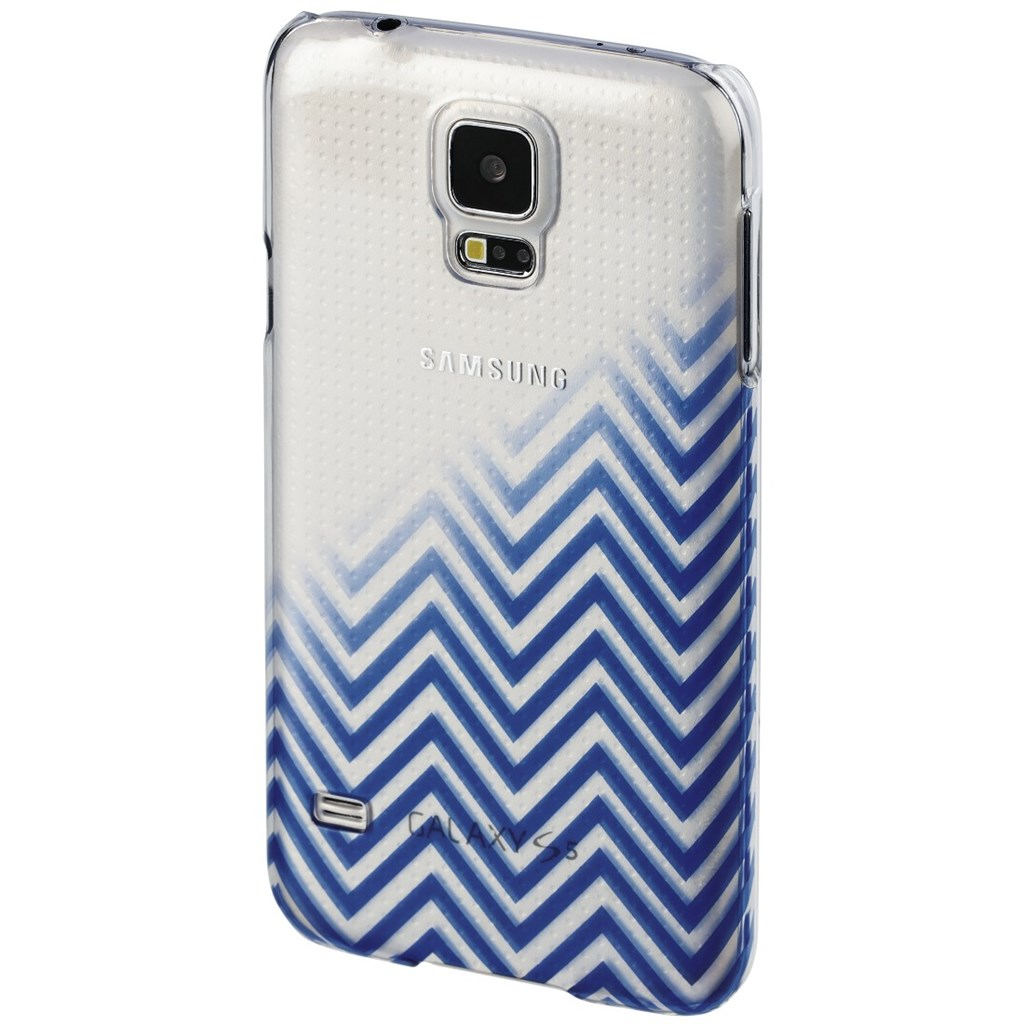 Hama Blurred Lines Cover for Samsung Galaxy S5 (Neo), blue