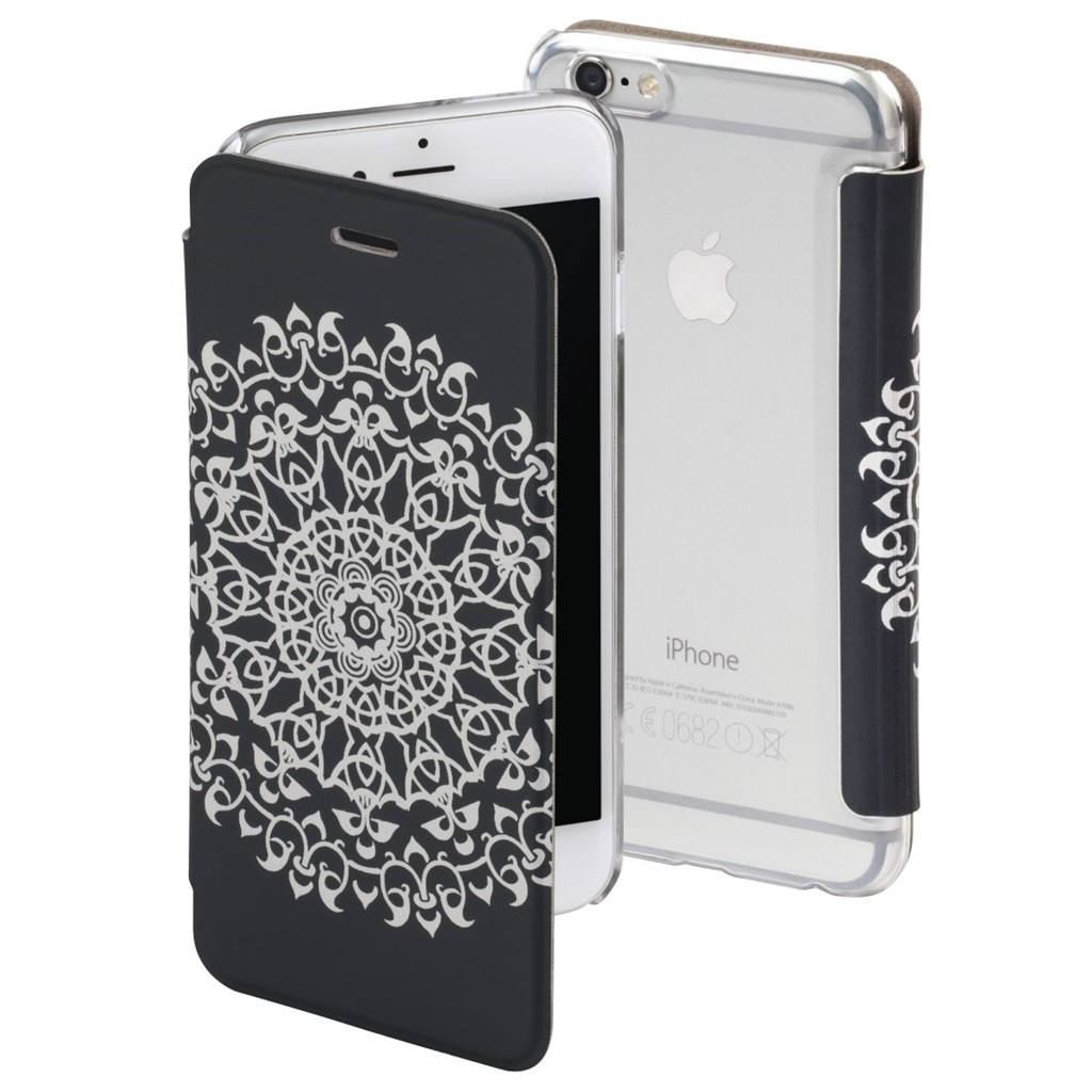 Hama Boho Circle Booklet Case for Apple iPhone 6/6s, grey
