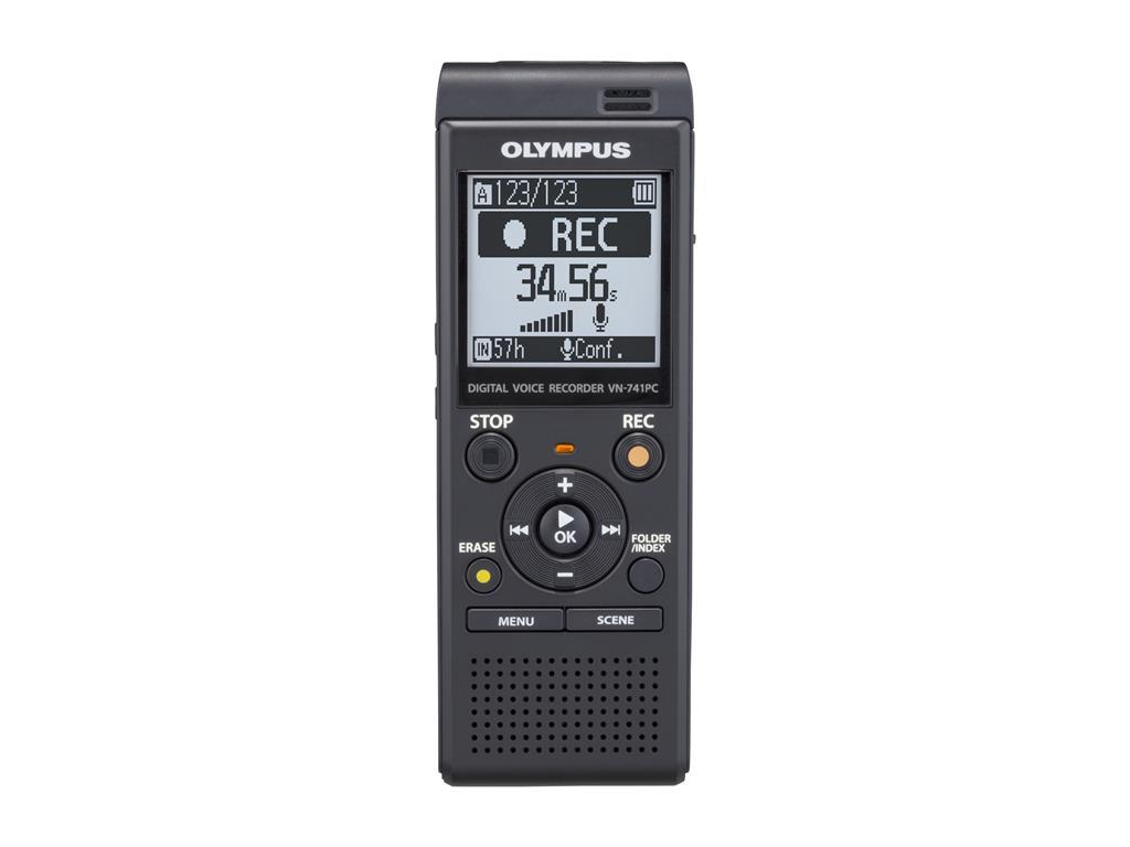 Digitální záznamník Olympus VN-741PC Black + ME 52 Kit