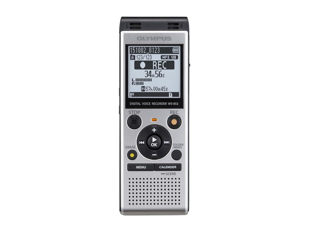 Digitální záznamník Olympus WS-852 Silver + ME51 Kit