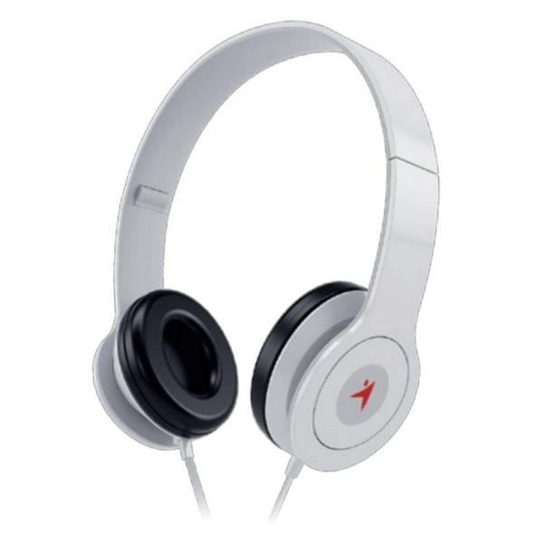 GENIUS sluchátka s mikrofonem HS-M450, bílá