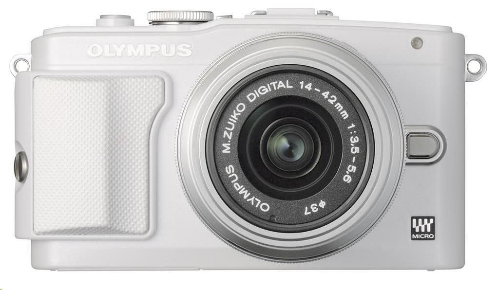 OLYMPUS E-PL6 fotoaparát 16.1MPix - Kit - stříbrný/stříbrný