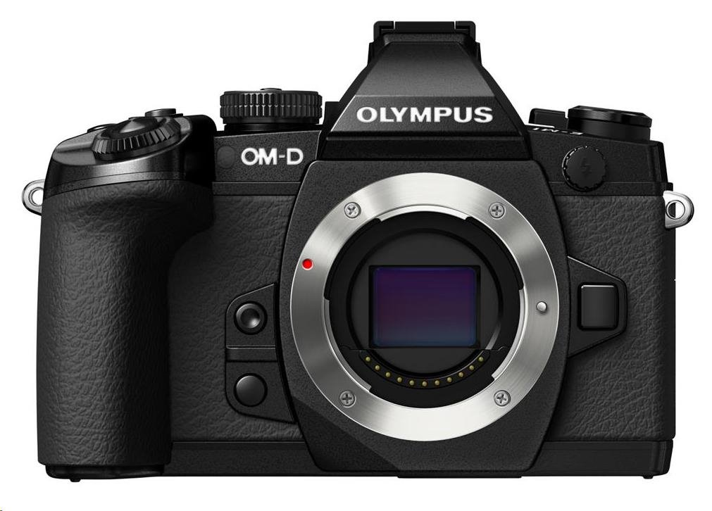 OLYMPUS E-M1 body černý