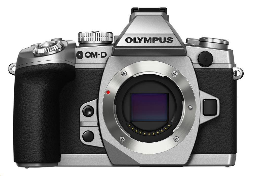OLYMPUS E-M1 body stříbrný