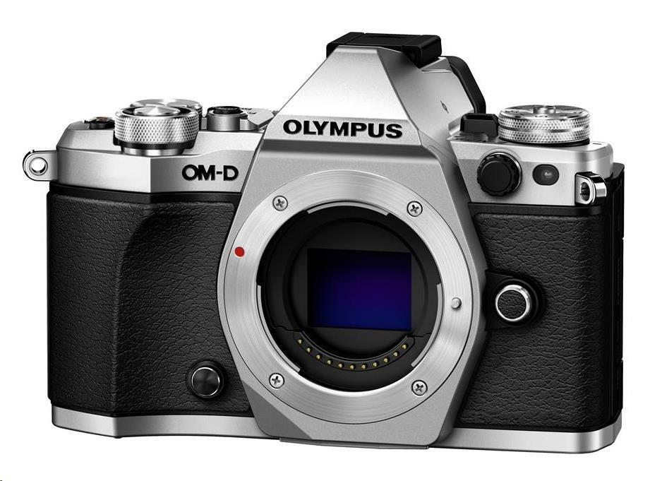 OLYMPUS E-M5 Mark II body stříbrný
