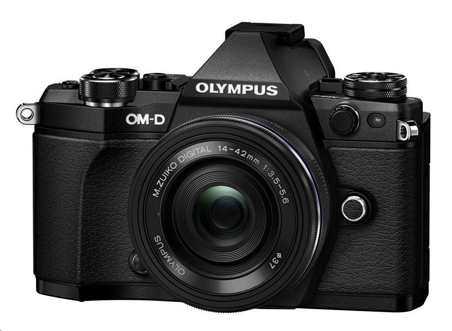 OLYMPUS E-M5 Mark II 1442 EZ kit černý/černý