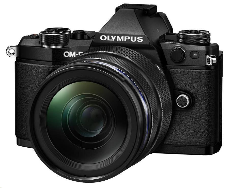 OLYMPUS E-M5 Mark II 1250 kit černý/černý