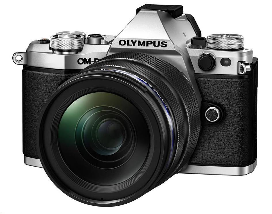 OLYMPUS E-M5 Mark II 1250 kit stříbrný/černý