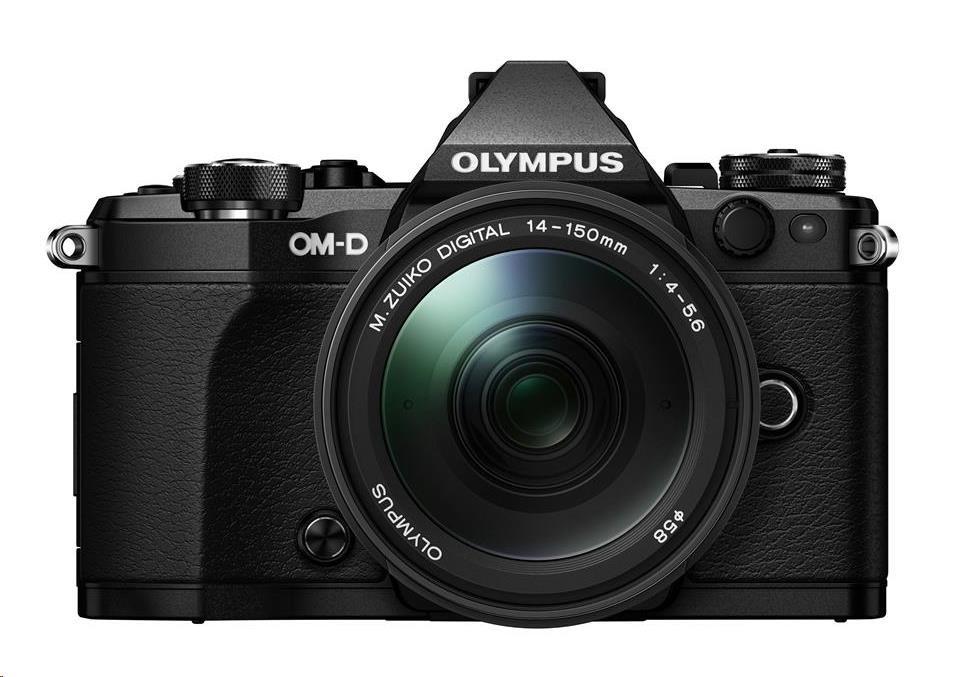 OLYMPUS E-M5 Mark II 1415II kit černý/černý