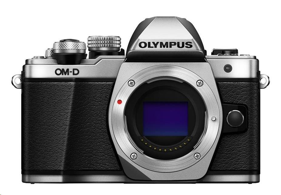 OLYMPUS E-M10 Mark II body stříbrný