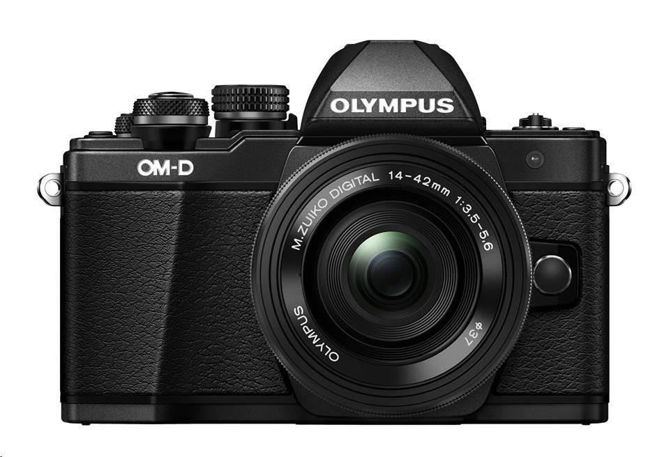 OLYMPUS E-M10 Mark II 1442 kit černý/černý