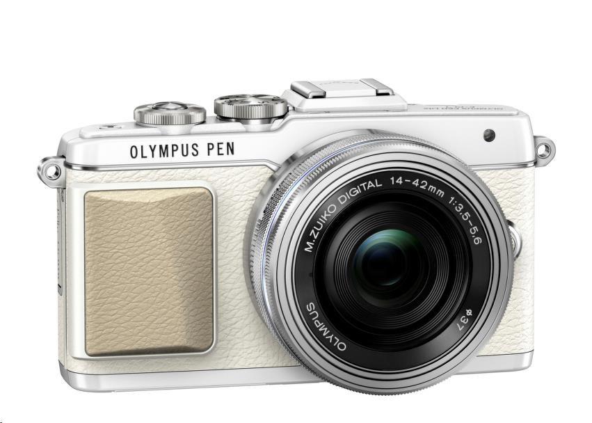OLYMPUS PEN E-PL7 + 14-42mm EZ bílý/stříbrný