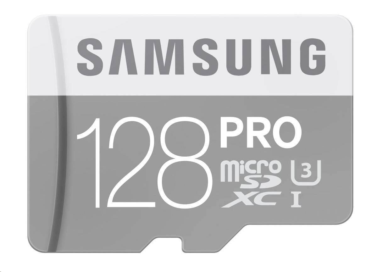 Samsung micro SDXC karta 128GB PRO (Class 10 UHS-I)