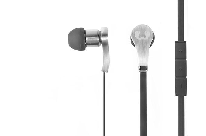 FRESH ´N REBEL Lace Earbuds sluchátka, šedá