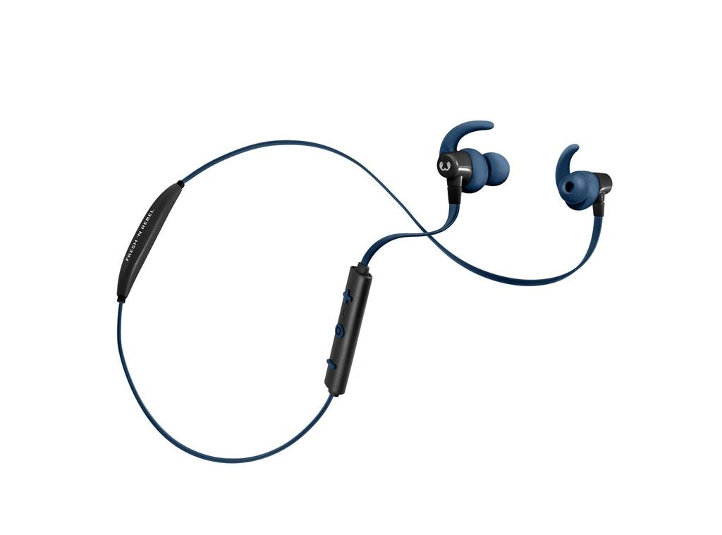 FRESH ´N REBEL Lace Sports Earbuds Bluetooth sluchátka, Indigo, indigově modrá