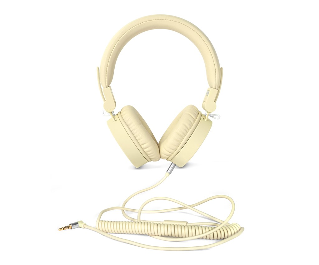 FRESH ´N REBEL Caps sluchátka, Buttercup, světle žlutá
