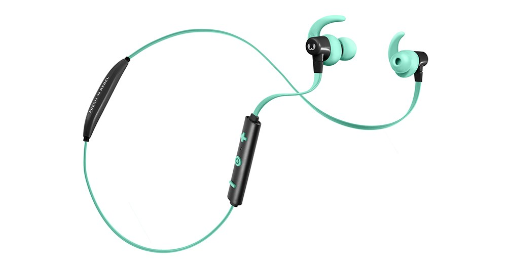FRESH ´N REBEL Lace Sports Earbuds Bluetooth sluchátka, Peppermint, světle zelená