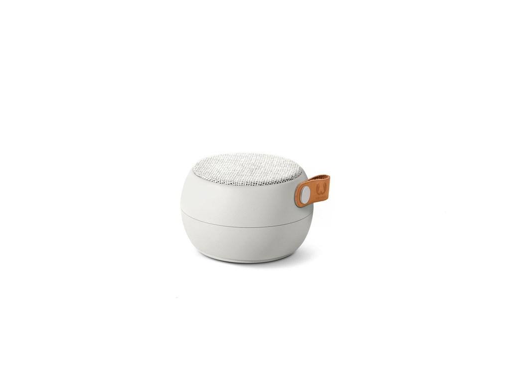 FRESH ´N REBEL Rockbox Round H2O Fabriq Edition Bluetooth reproduktor, světle šedý
